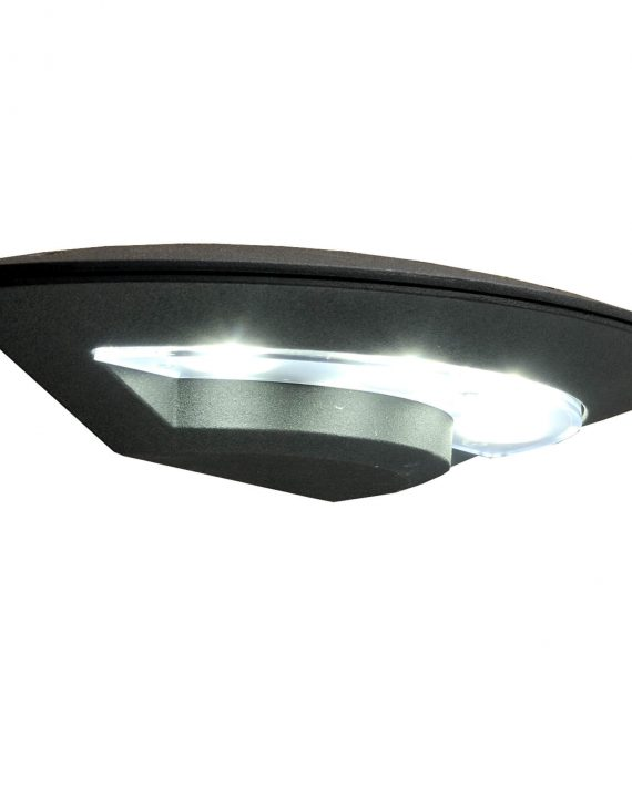 SVETILJKA LED SPOLJNA ZIDNA 4x1W 6500K 320Lm IP54 AL+PC LAURUS CRNA BRILIGHT