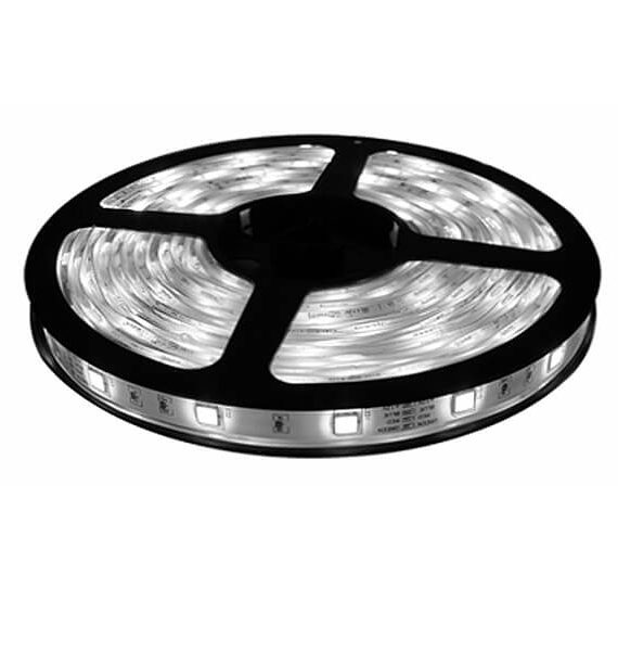 LED TRAKA 4.8W 12V 5m 3528-60D-8mm WHITE IP 20 BRILIGHT
