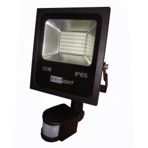 REFLEKTOR LED 30W 6500K 2500Lm IP65 SA SENZOROM BRILIGHT